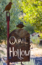 Quail Hollow Sign